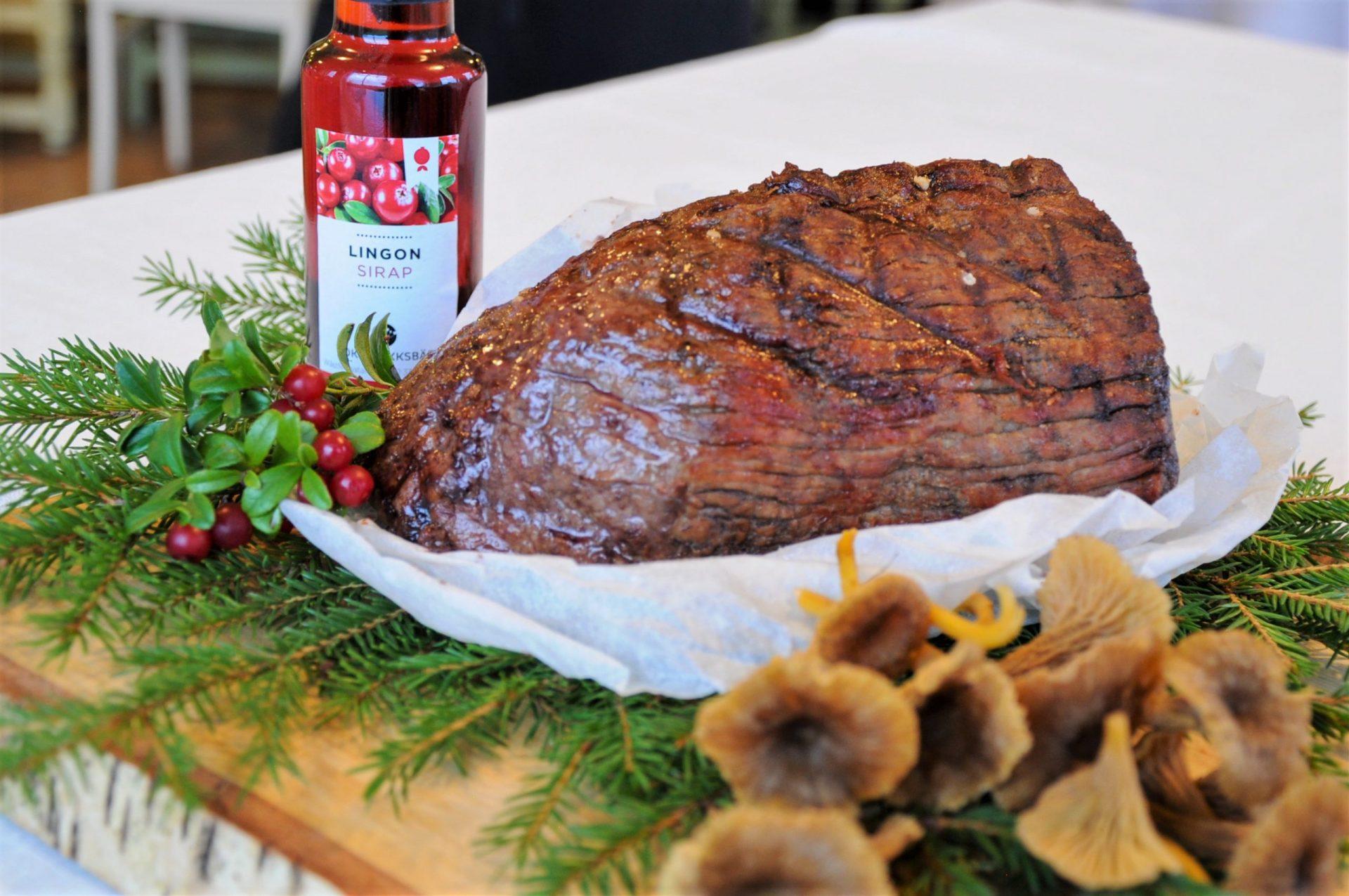 Limousinkött - en del av vår meny på Åbrånets Limousin