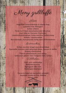 Åbrånets Limousin Grillbuffé meny