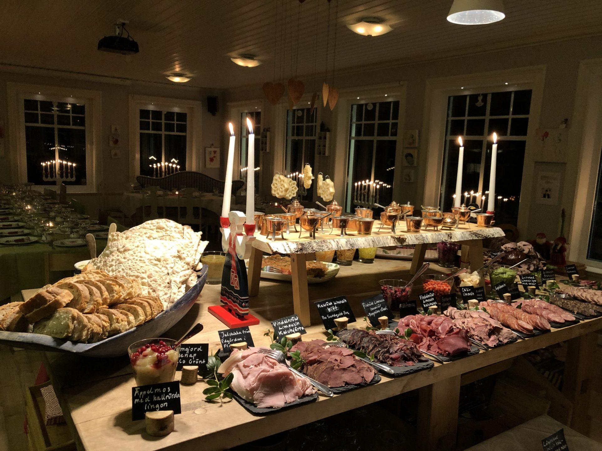 Julbord på Åbrånets Limousin