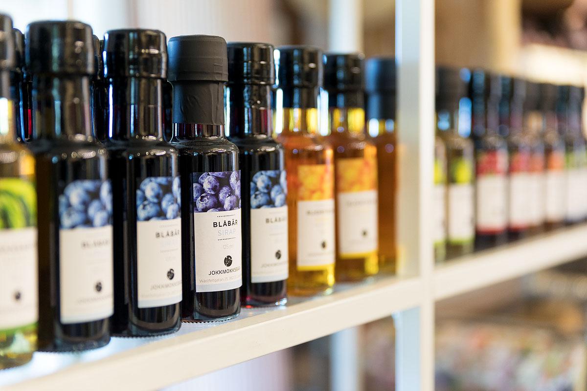 Produkter från lokala trakten