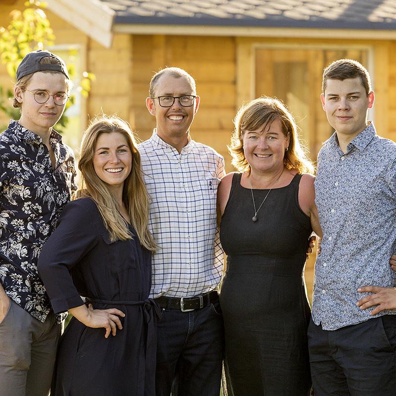 Familijen på Åbrånets Limousin